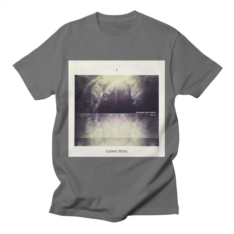 PHL3: Abstract Angel Men's T-Shirt by Catholic Metal Merch