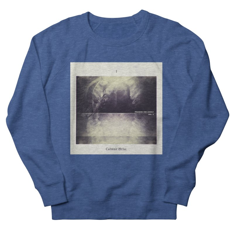 PHL3: Abstract Angel Men's Sweatshirt by Catholic Metal Merch
