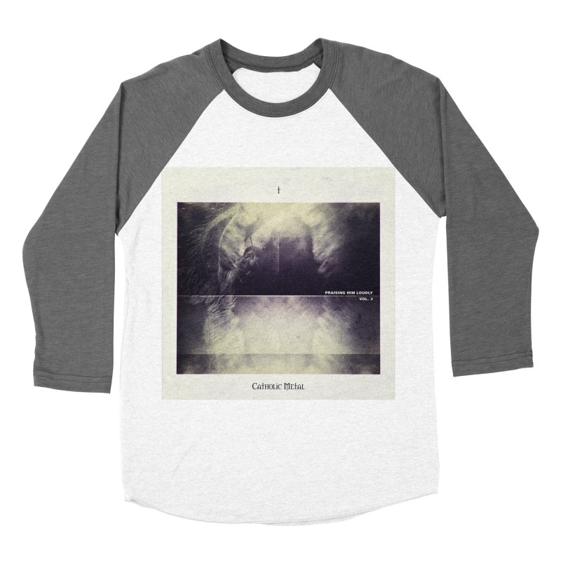 PHL3: Abstract Angel Women's Longsleeve T-Shirt by Catholic Metal Merch