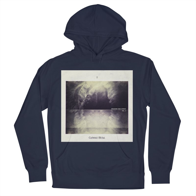 PHL3: Abstract Angel Women's French Terry Pullover Hoody by Catholic Metal Merch