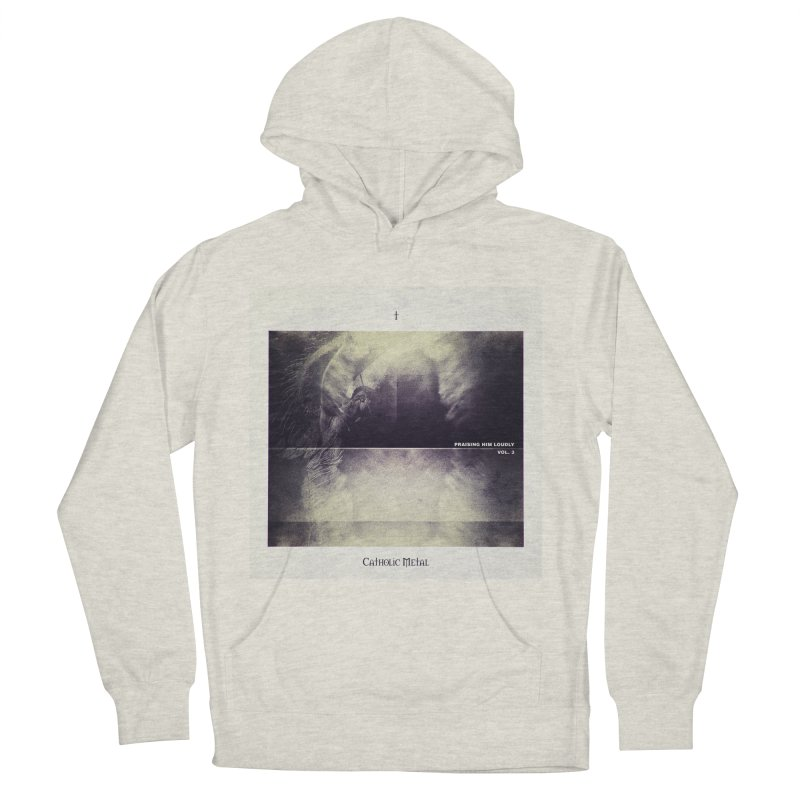 PHL3: Abstract Angel Men's Pullover Hoody by Catholic Metal Merch