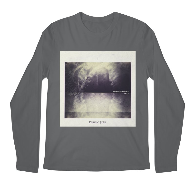 PHL3: Abstract Angel Men's Longsleeve T-Shirt by Catholic Metal Merch