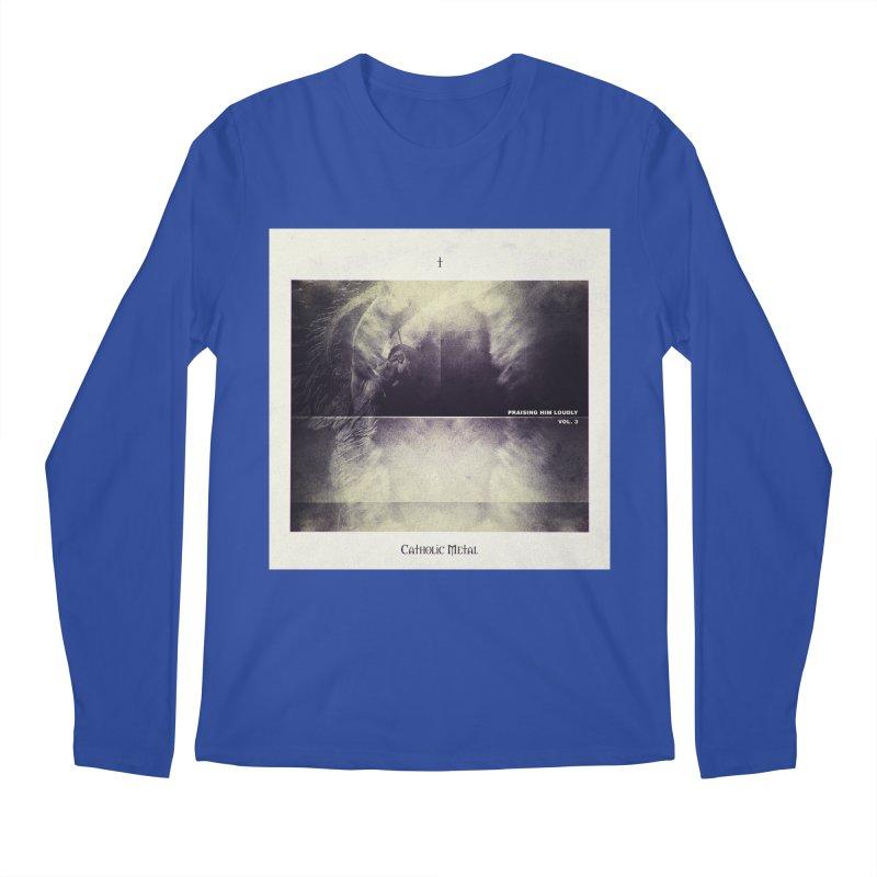 PHL3: Abstract Angel Men's Regular Longsleeve T-Shirt by Catholic Metal Merch