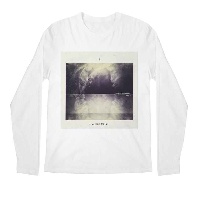 PHL3: Abstract Angel Men's Longsleeve T-Shirt by Catholic Metal Merch