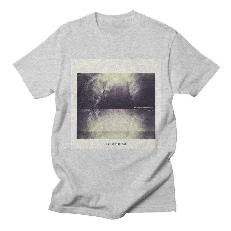 PHL3: Abstract Angel Men's Regular T-Shirt by Catholic Metal Merch