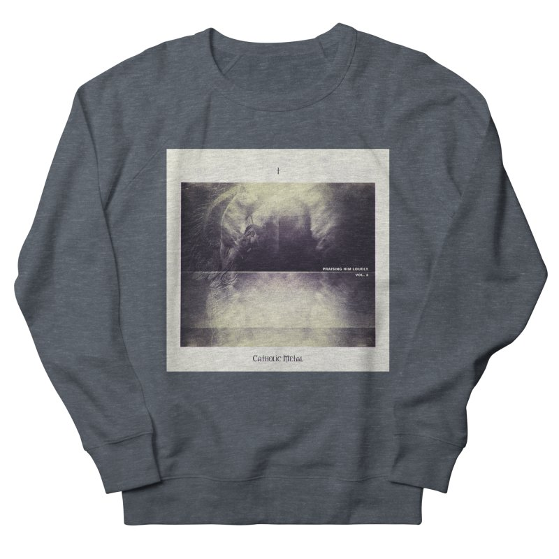 PHL3: Abstract Angel Women's Sweatshirt by Catholic Metal Merch