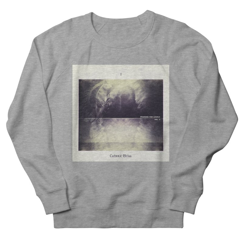 PHL3: Abstract Angel Men's French Terry Sweatshirt by Catholic Metal Merch