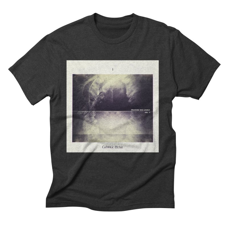 PHL3: Abstract Angel Men's Triblend T-Shirt by Catholic Metal Merch