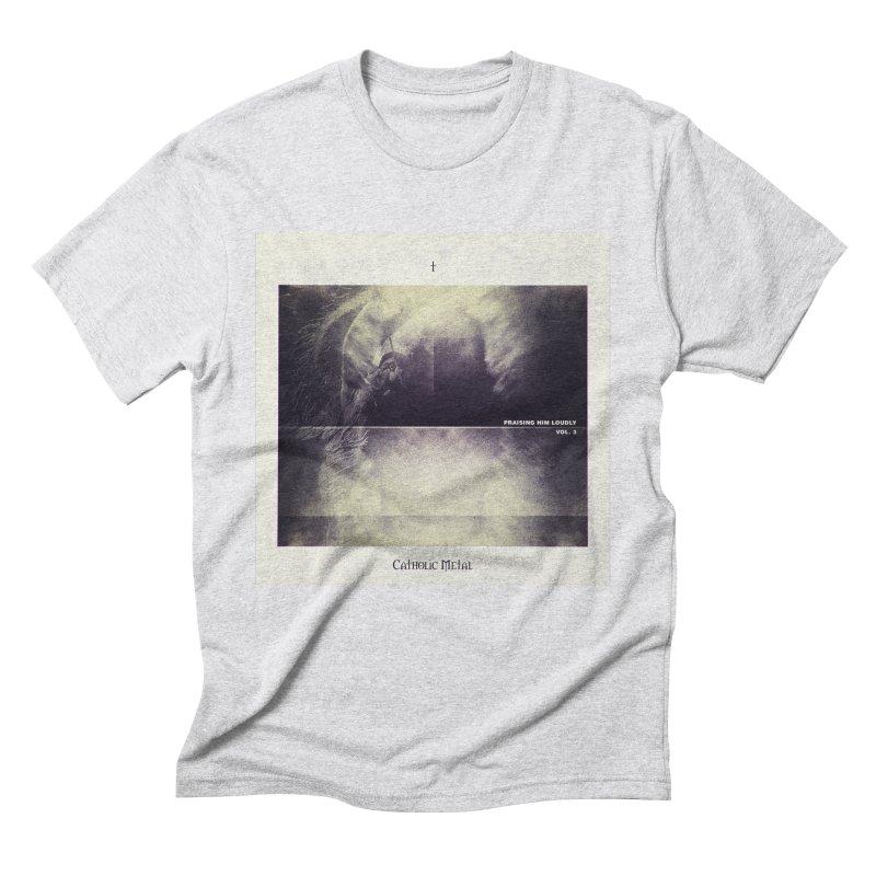 PHL3: Abstract Angel Men's Triblend T-Shirt by Catholic Metal Merch