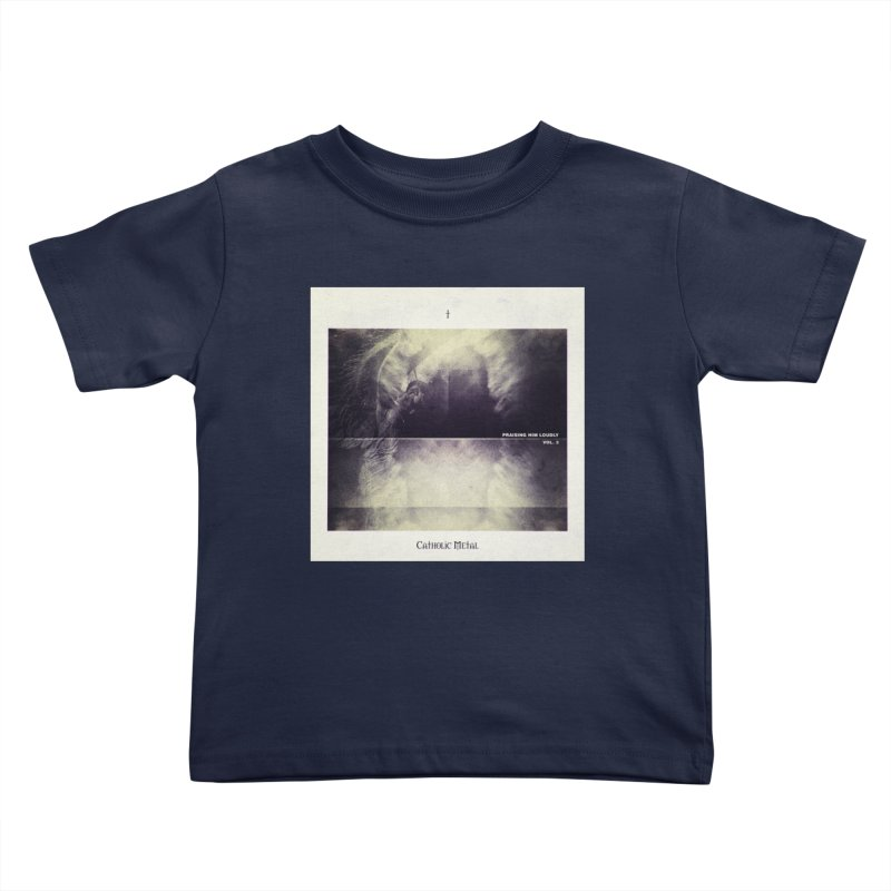 PHL3: Abstract Angel Kids Toddler T-Shirt by Catholic Metal Merch