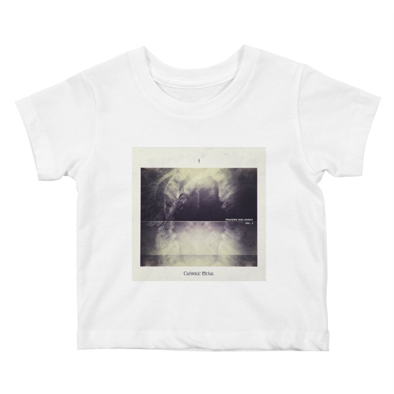 PHL3: Abstract Angel Kids Baby T-Shirt by Catholic Metal Merch