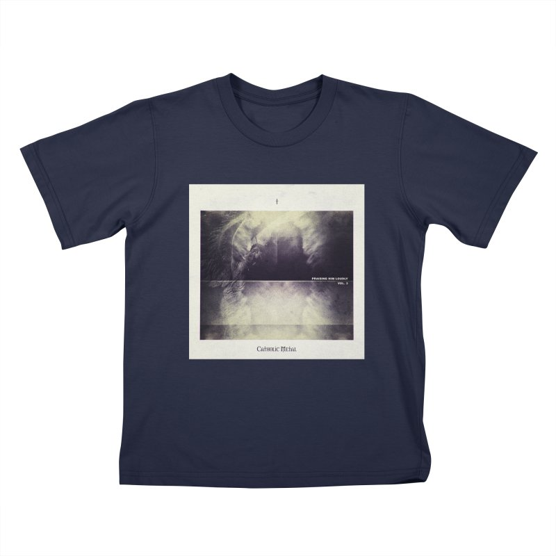 PHL3: Abstract Angel Kids T-Shirt by Catholic Metal Merch