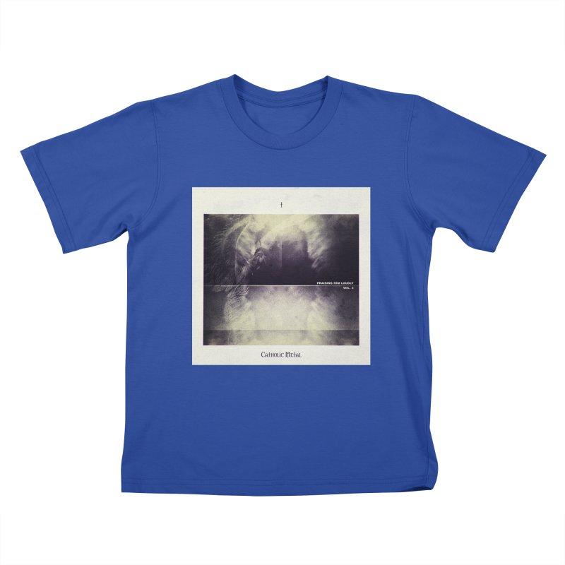PHL3: Abstract Angel Kids T-Shirt by Catholic Metal Merch