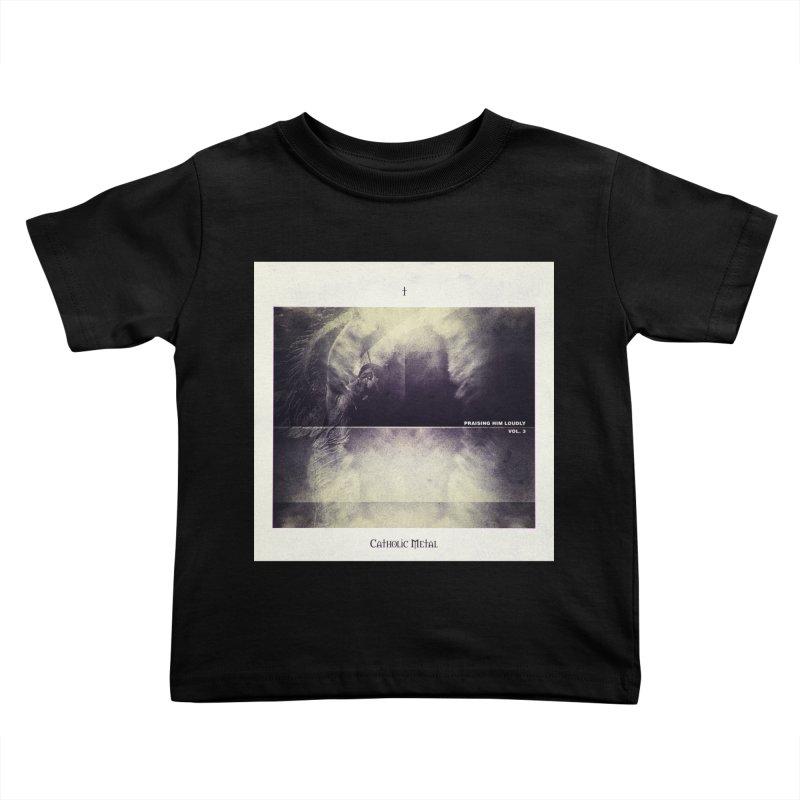 PHL3: Abstract Angel Kids Toddler T-Shirt by Catholic Metal Merch
