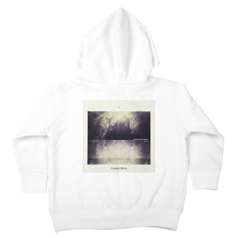 PHL3: Abstract Angel Kids Toddler Zip-Up Hoody by Catholic Metal Merch