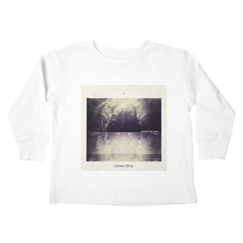 PHL3: Abstract Angel Kids Toddler Longsleeve T-Shirt by Catholic Metal Merch