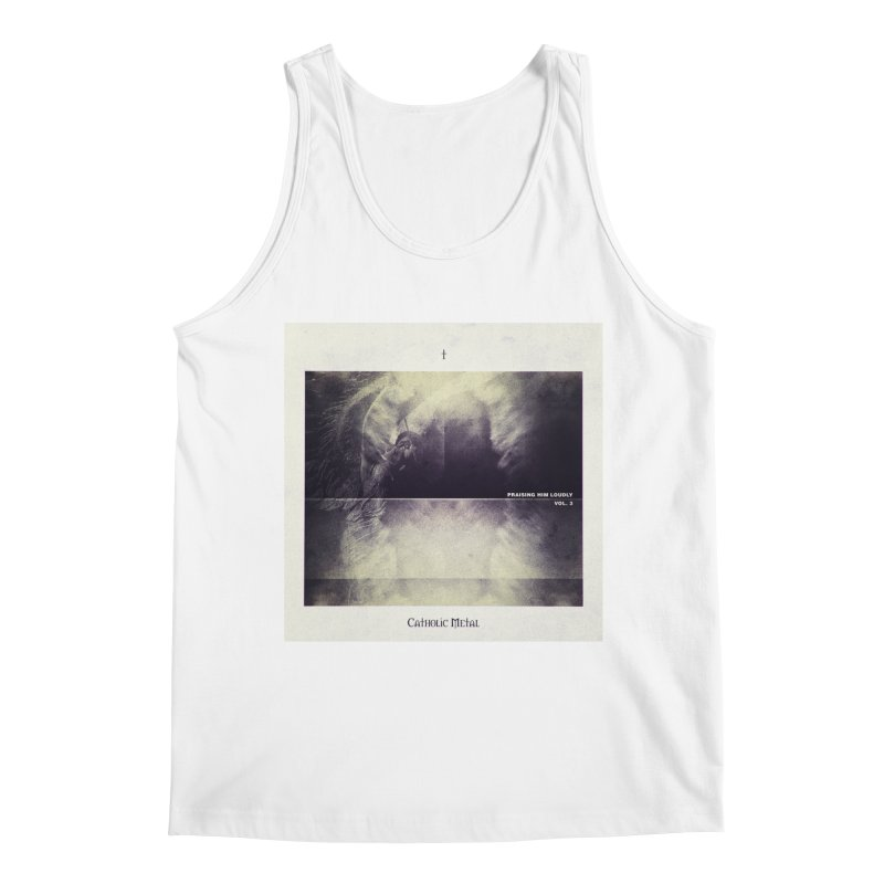 PHL3: Abstract Angel Men's Regular Tank by Catholic Metal Merch
