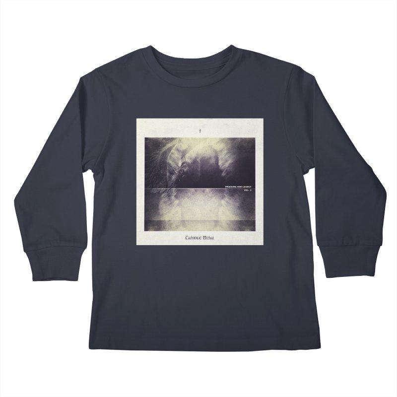 PHL3: Abstract Angel Kids Longsleeve T-Shirt by Catholic Metal Merch