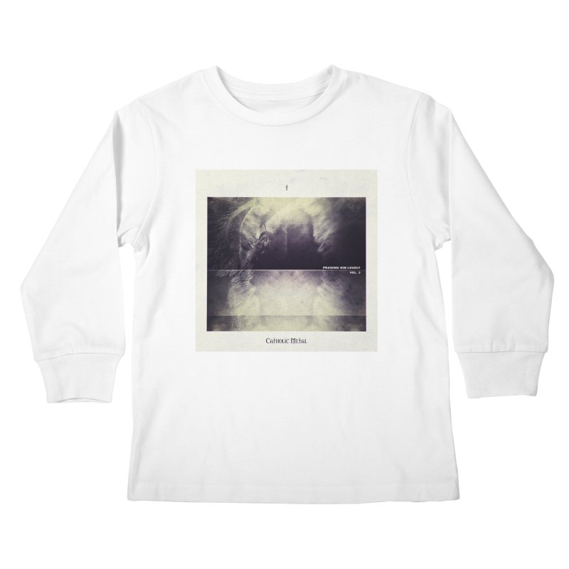 PHL3: Abstract Angel Kids Longsleeve T-Shirt by Catholic Metal Merch