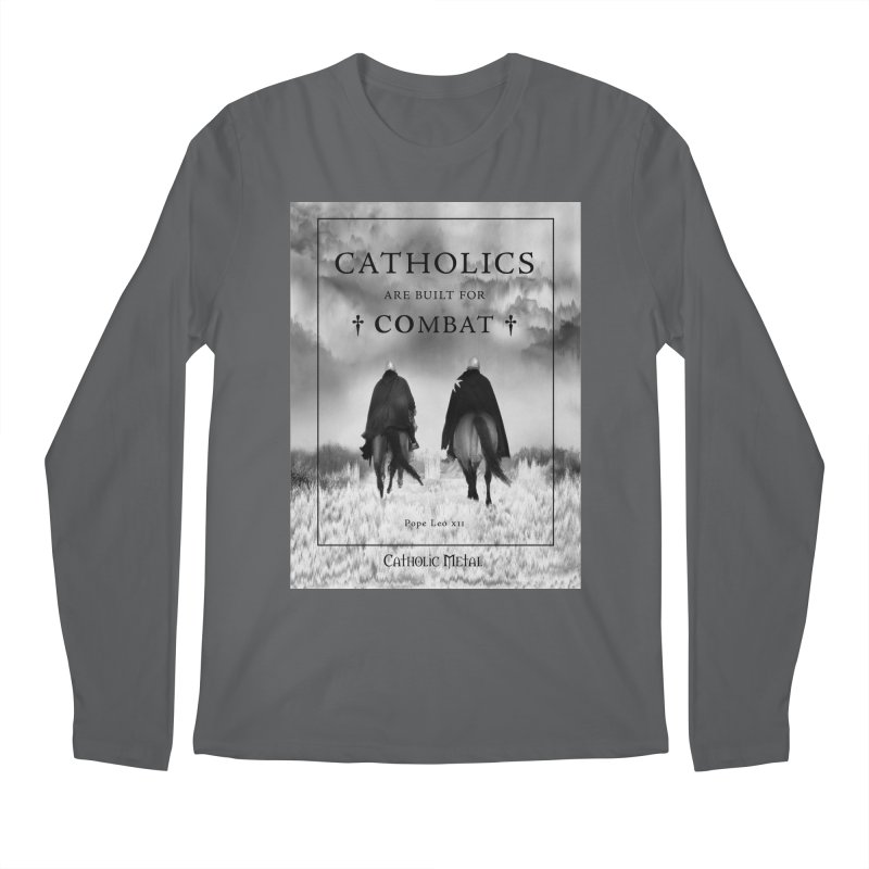 Catholics Are Built For Combat   by Catholic Metal Merch