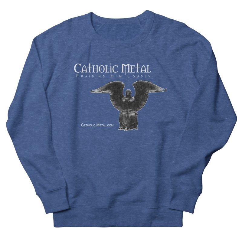 Classic Catholic Metal  Men's Sweatshirt by Catholic Metal Merch