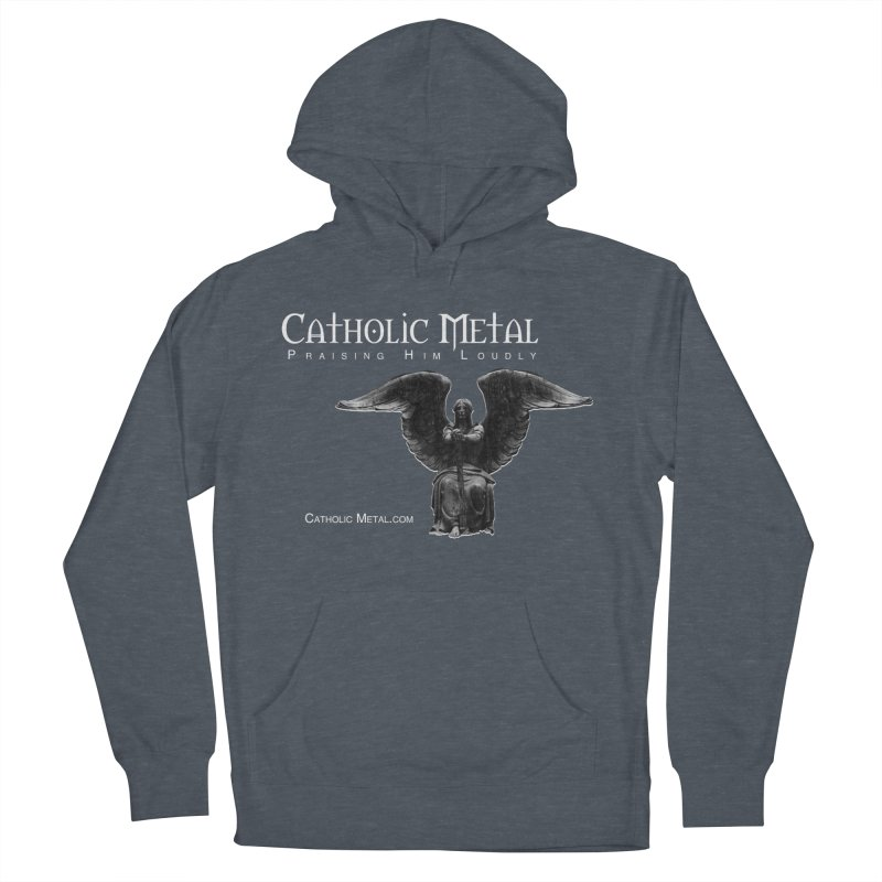 Classic Catholic Metal  Women's Pullover Hoody by Catholic Metal Merch