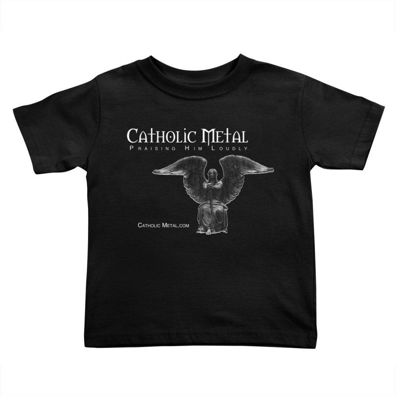 Classic Catholic Metal  Kids Toddler T-Shirt by Catholic Metal Merch