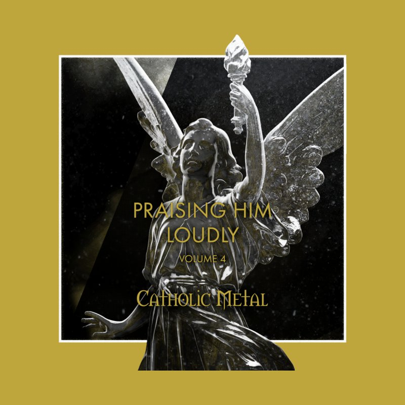 PHL4: Triumphant Angel by Catholic Metal Merch