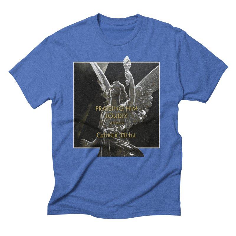 PHL4: Triumphant Angel Men's T-Shirt by Catholic Metal Merch