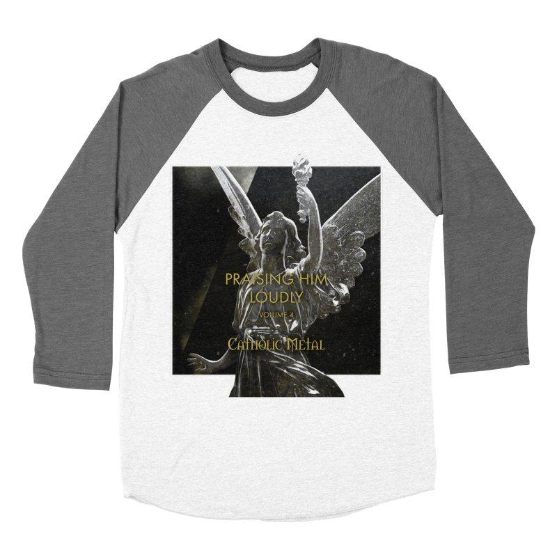 PHL4: Triumphant Angel Women's Longsleeve T-Shirt by Catholic Metal Merch