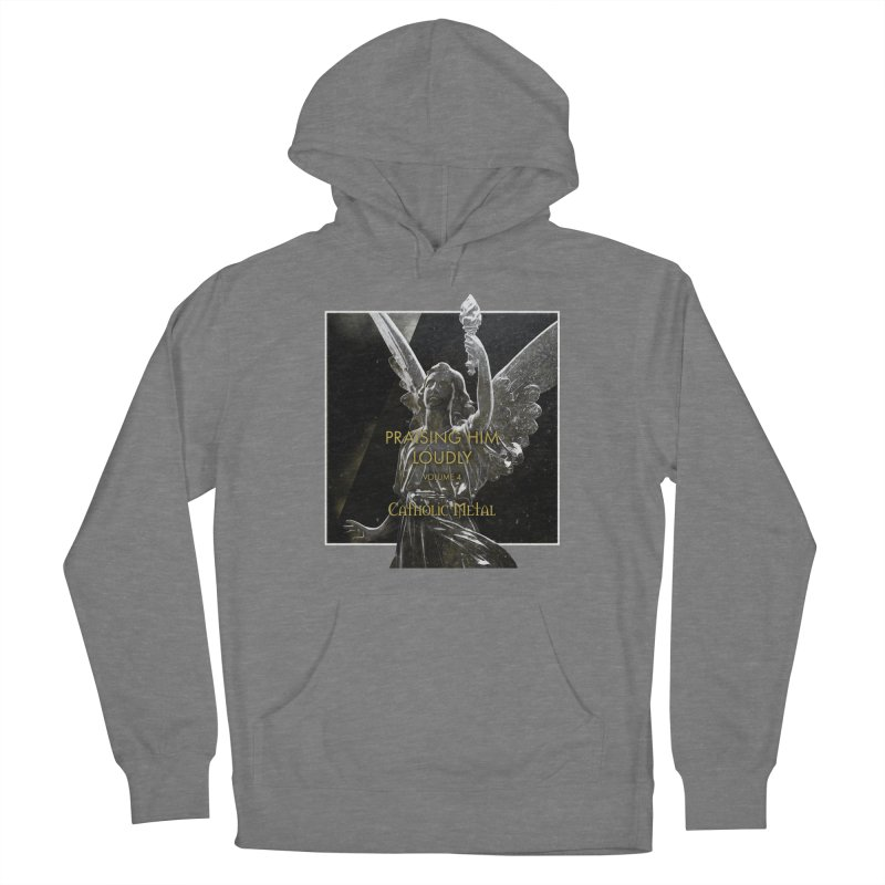 PHL4: Triumphant Angel Women's Pullover Hoody by Catholic Metal Merch