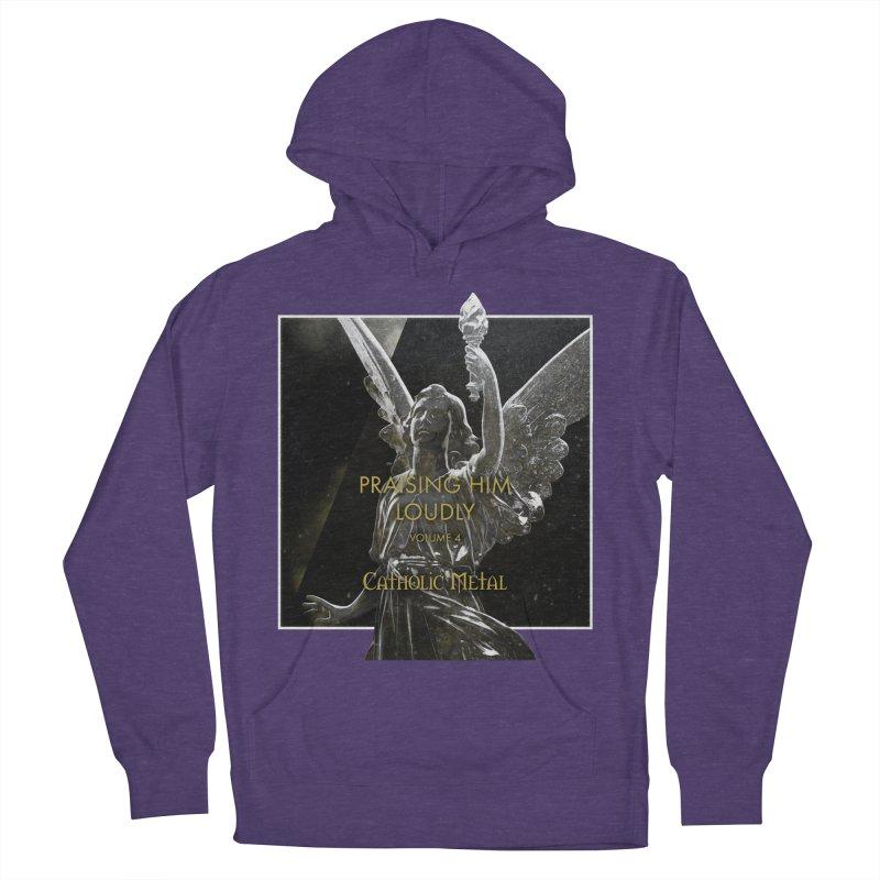 PHL4: Triumphant Angel Women's Pullover Hoody by Catholic Metal Merch