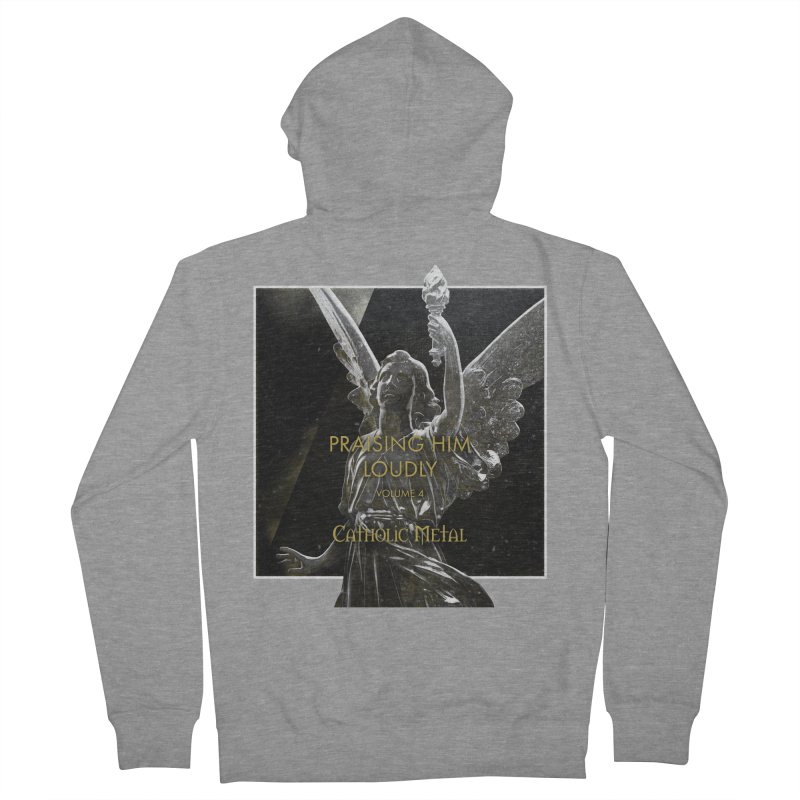 PHL4: Triumphant Angel Women's Zip-Up Hoody by Catholic Metal Merch