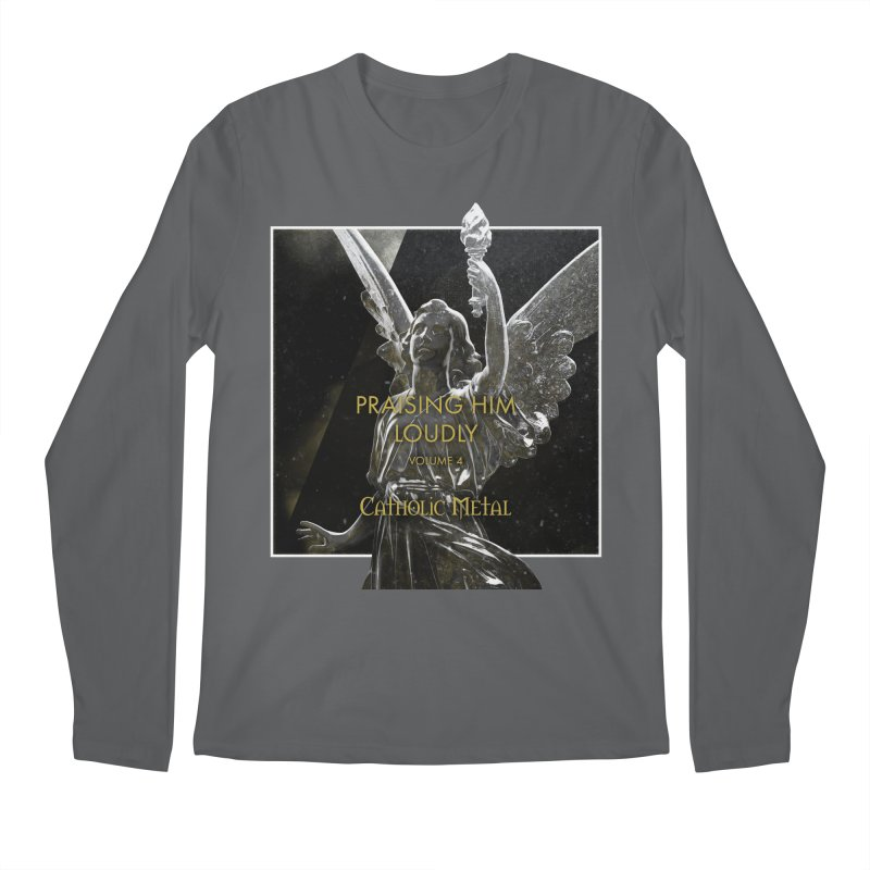 PHL4: Triumphant Angel Men's Longsleeve T-Shirt by Catholic Metal Merch