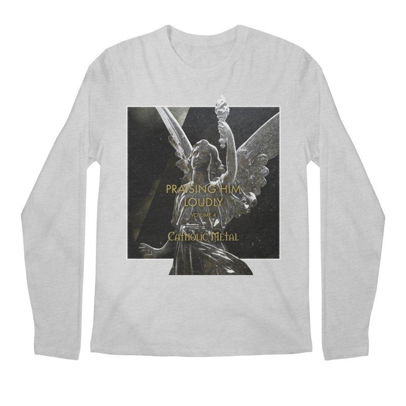 PHL4: Triumphant Angel Men's Regular Longsleeve T-Shirt by Catholic Metal Merch