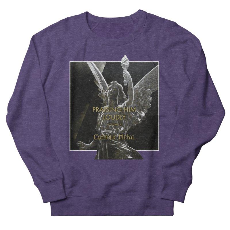 PHL4: Triumphant Angel Women's Sweatshirt by Catholic Metal Merch