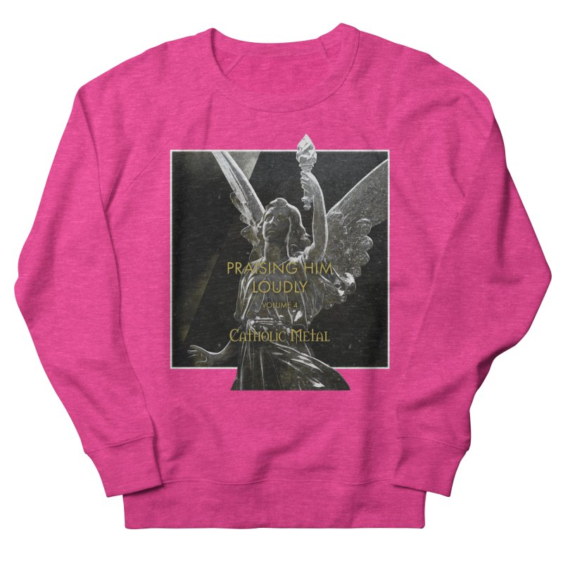 PHL4: Triumphant Angel Women's Sweatshirt by Catholic Metal Merch