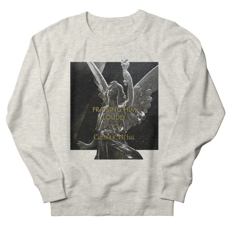PHL4: Triumphant Angel Women's French Terry Sweatshirt by Catholic Metal Merch