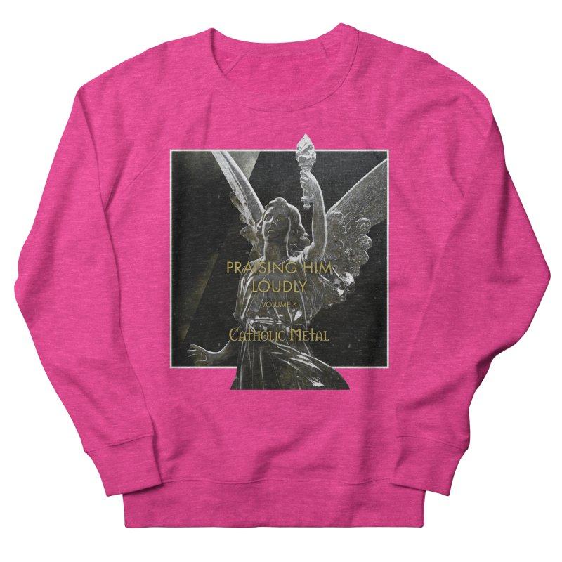 PHL4: Triumphant Angel Men's Sweatshirt by Catholic Metal Merch