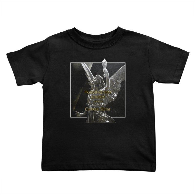 PHL4: Triumphant Angel Kids Toddler T-Shirt by Catholic Metal Merch