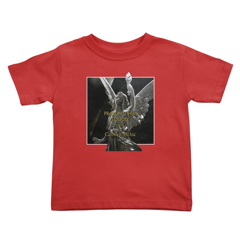 PHL4: Triumphant Angel Kids Toddler T-Shirt by Catholic Metal Merch
