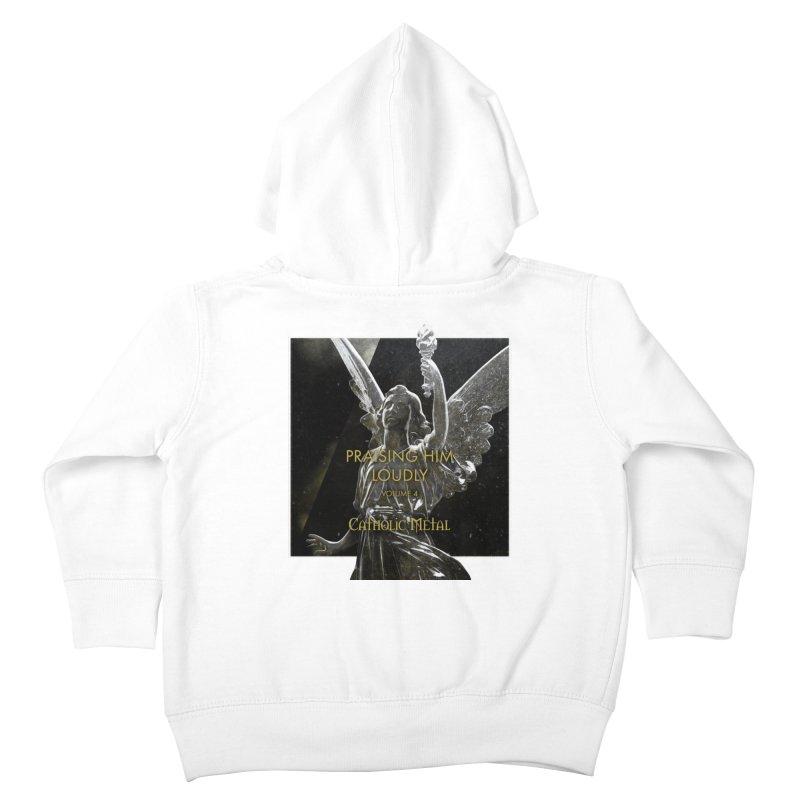 PHL4: Triumphant Angel Kids Toddler Zip-Up Hoody by Catholic Metal Merch