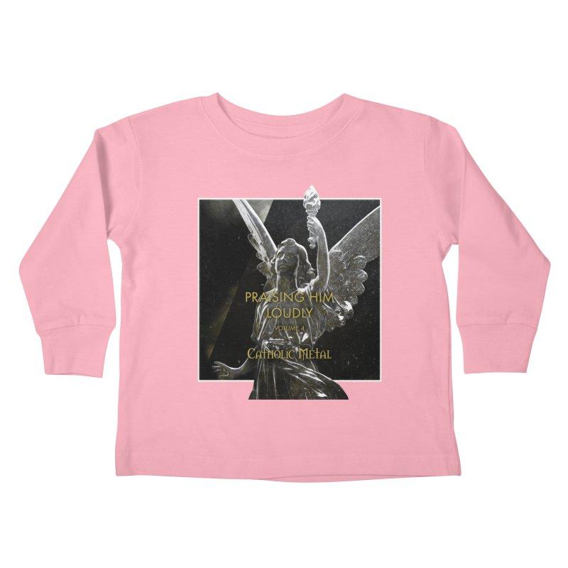 PHL4: Triumphant Angel Kids Toddler Longsleeve T-Shirt by Catholic Metal Merch