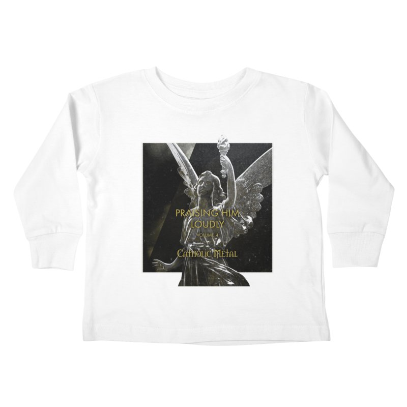 PHL4: Triumphant Angel Kids Toddler Longsleeve T-Shirt by Catholic Metal Merch