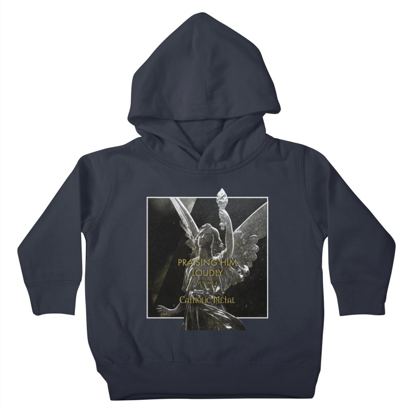 PHL4: Triumphant Angel Kids Toddler Pullover Hoody by Catholic Metal Merch