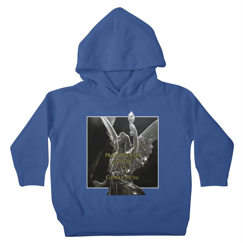 PHL4: Triumphant Angel Kids Toddler Pullover Hoody by Catholic Metal Merch