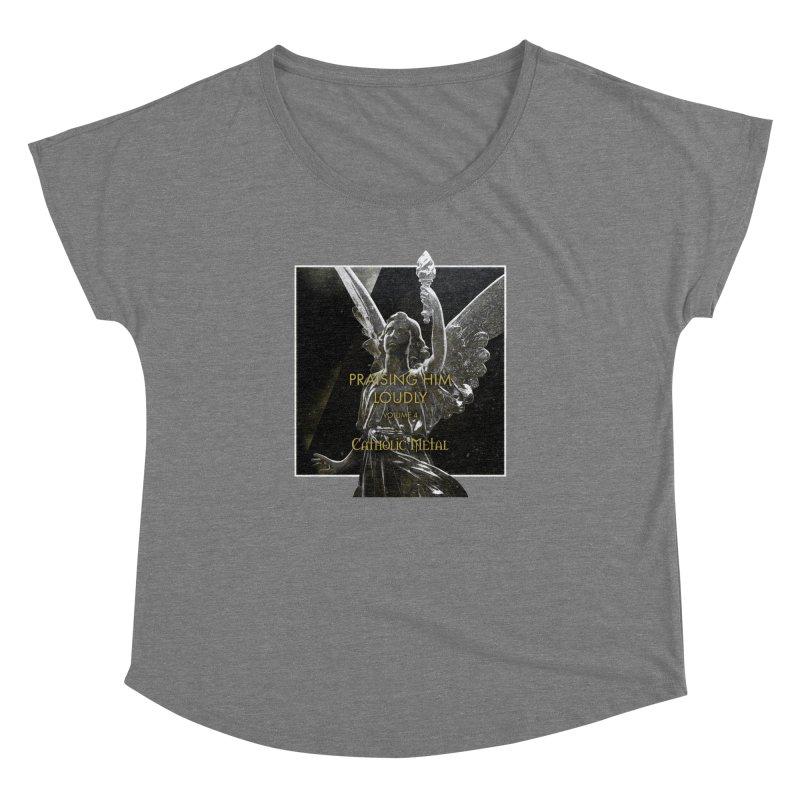PHL4: Triumphant Angel Women's Dolman by Catholic Metal Merch