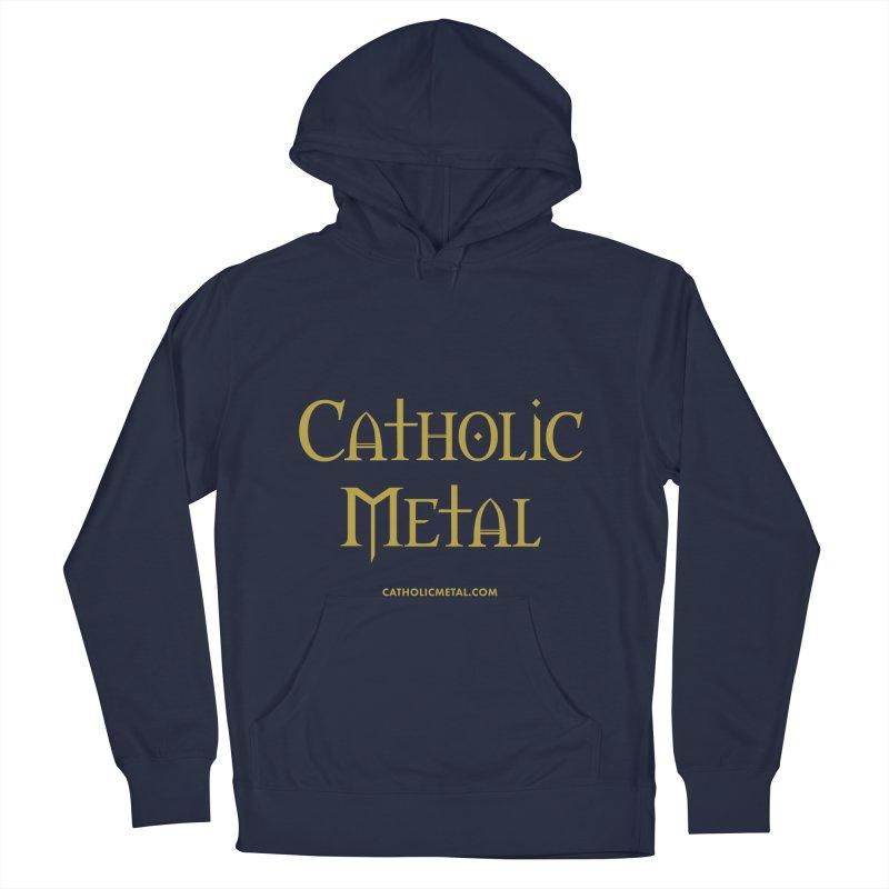 Catholic Metal Logo Women's Pullover Hoody by Catholic Metal Merch