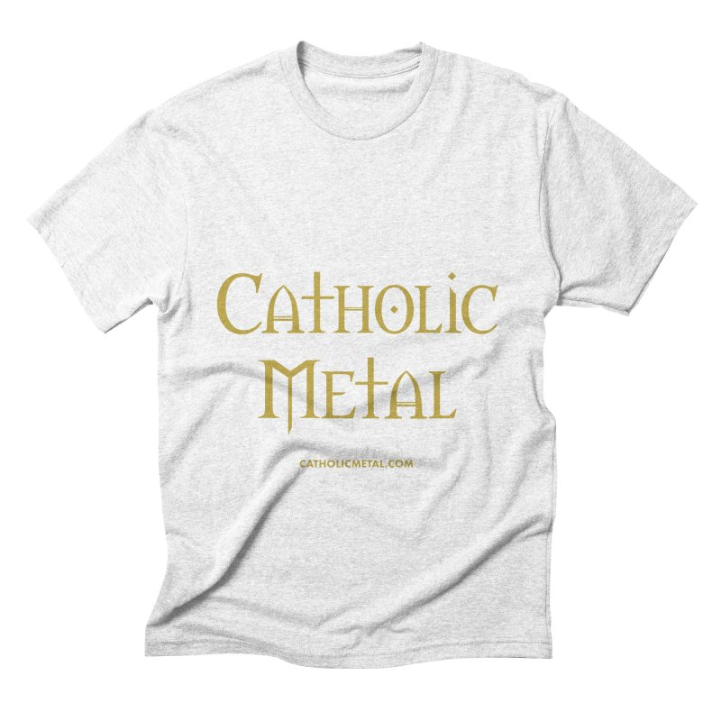 Catholic Metal Logo   by Catholic Metal Merch