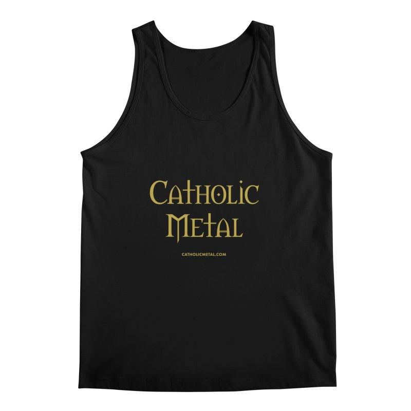 Catholic Metal Logo Men's Tank by Catholic Metal Merch